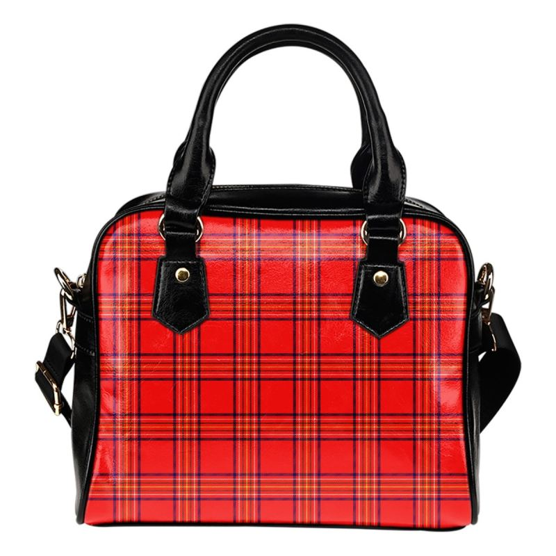 Burnett Modern Tartan Shoulder Handbag - Bn Handbags