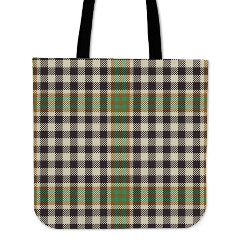 Burns Check Tartan Tote Bags