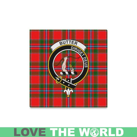 Tartan Canvas Print - Butter Clan | Over 300 Scottish Clans and 500 Tartans