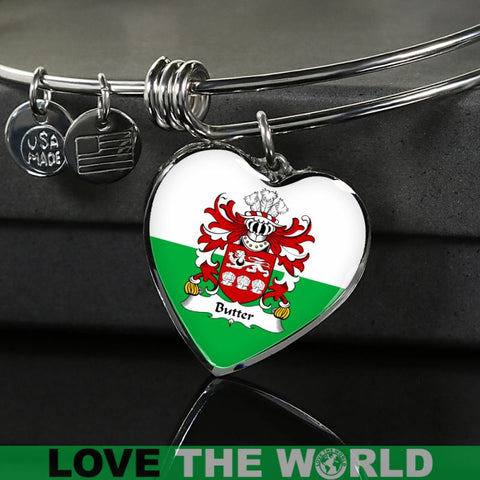 Butter (Of Flint) Wales Heart (Necklace/Bangle) A9 |Accessories| 1sttheworld