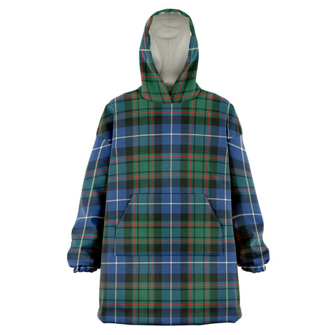 MacRae Hunting Ancient Snug Hoodie - Unisex Tartan Plaid Front