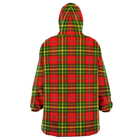 Leask Snug Hoodie - Unisex Tartan Plaid Back