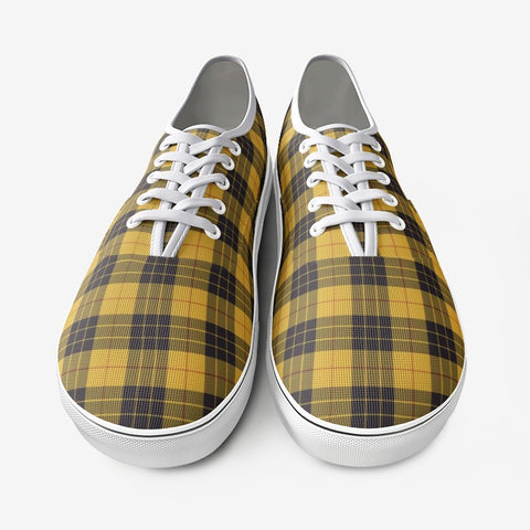 Macleod Of Lewis Ancient Tartan Unisex Canvas Shoes Fashion Low Cut Loafer Sneakers K5