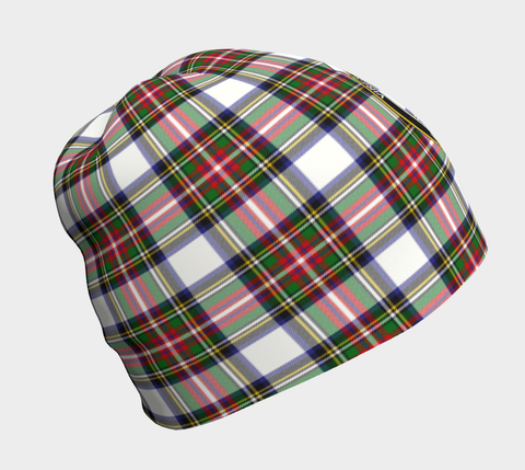 Stewart Dress Modern Tartan Clan Crest Beanie