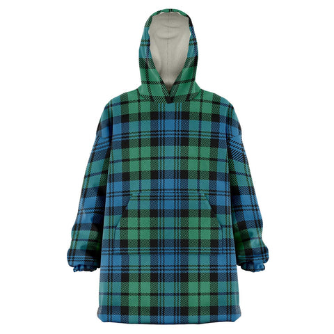 Campbell Ancient 01 Snug Hoodie - Unisex Tartan Plaid Front