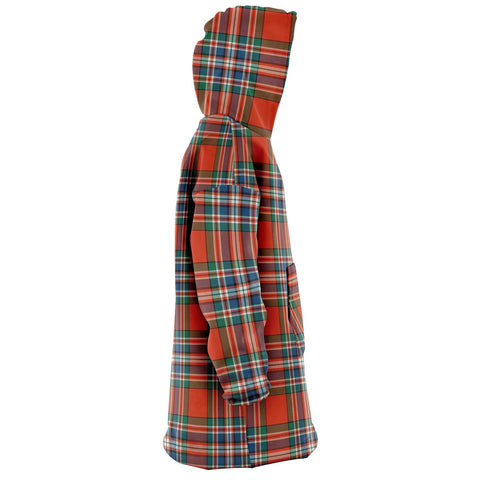 MacFarlane Ancient Snug Hoodie - Unisex Tartan Plaid Right