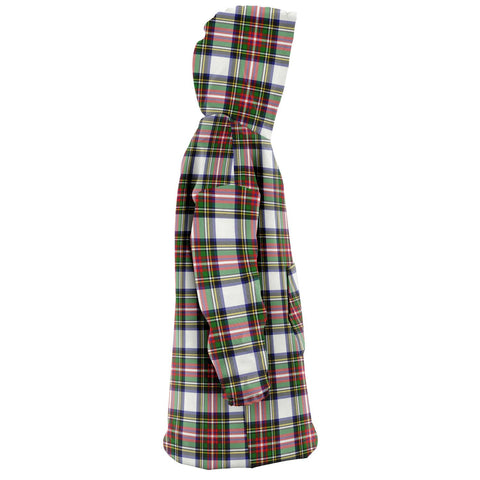 Stewart Dress Modern Snug Hoodie - Unisex Tartan Plaid Right