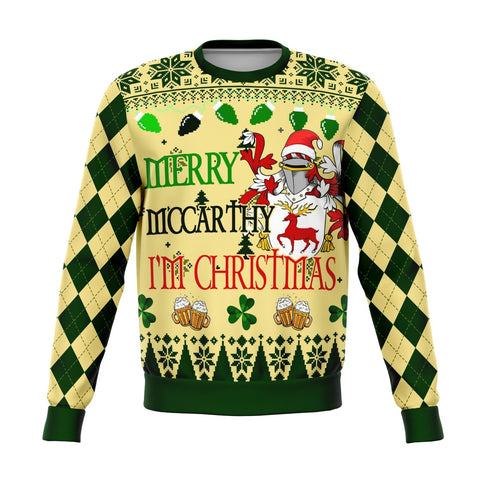 Image of Hello McCarthy I'm Christmas Sweatshirt | 1sttheworld.com