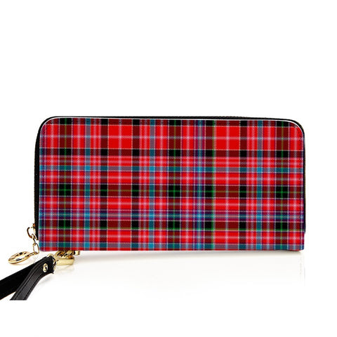 Image of ABERDEEN TARTAN ZIPPER WALLET HJ4