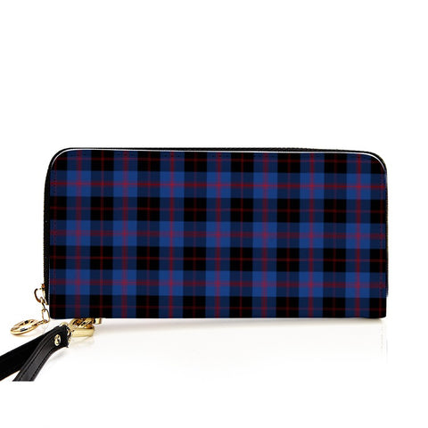Image of ANGUS MODERN TARTAN ZIPPER WALLET HJ4