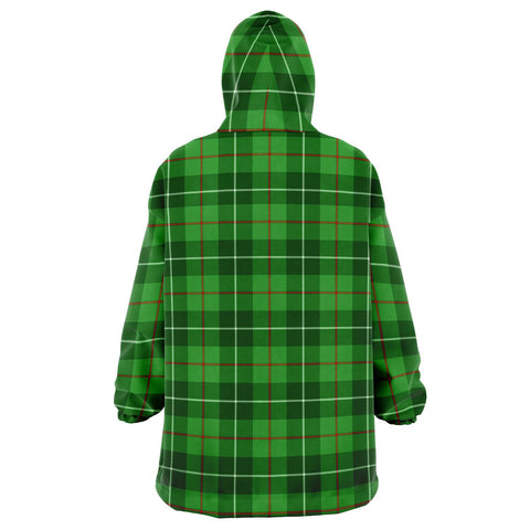 Galloway District Snug Hoodie - Unisex Tartan Plaid Back