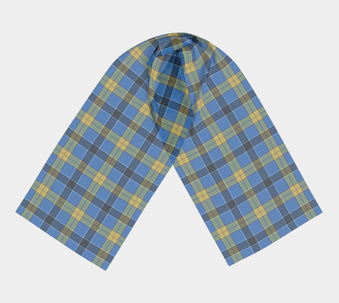 Image of Tartan Long Scarf - Laing - Bn04 |Women's Clothing| 1sttheworld