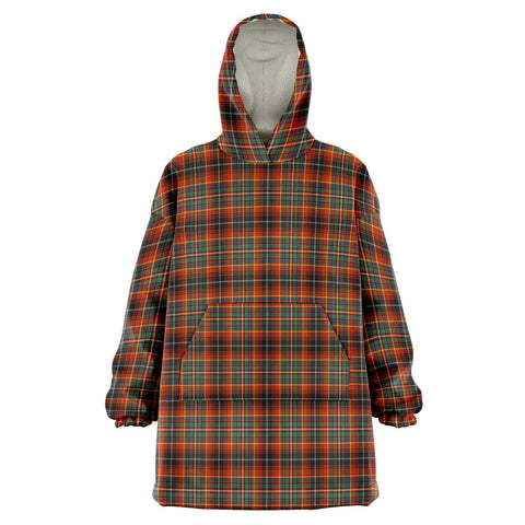 Innes Ancient Snug Hoodie - Unisex Tartan Plaid Front