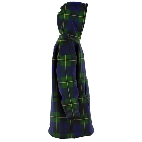 Johnston Modern Snug Hoodie - Unisex Tartan Plaid Right