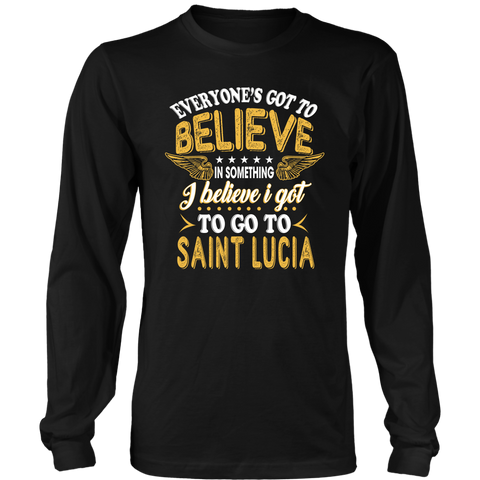 Image of t shirt, shirts sanit lucia, clothing, st lucia, hoodie sanit lucia