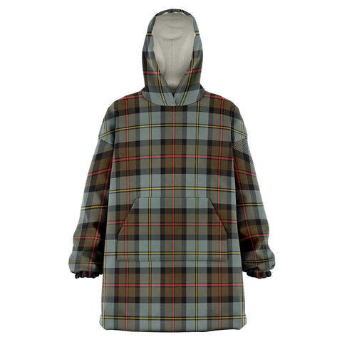 MacLeod of Harris Weathered Snug Hoodie - Unisex Tartan Plaid Front