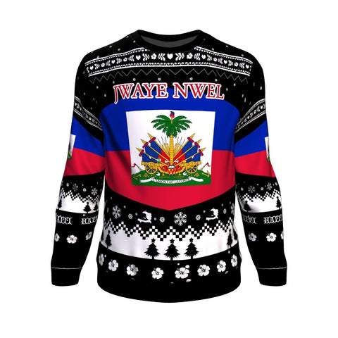 Image of Haiti Christmas Sweatshirt K5