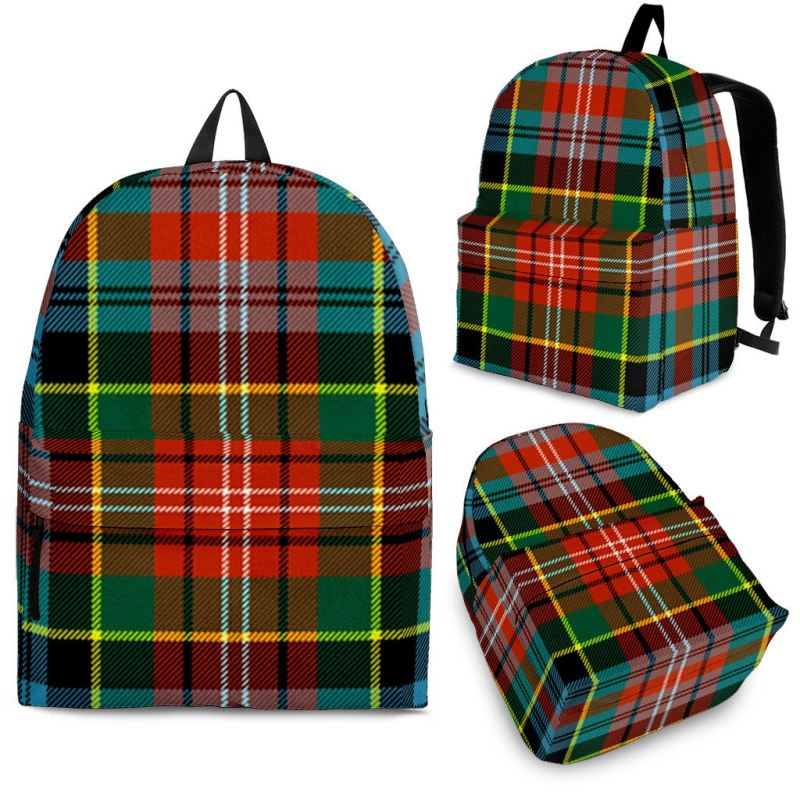 Caledonia Ancient Tartan Backpack Backpacks