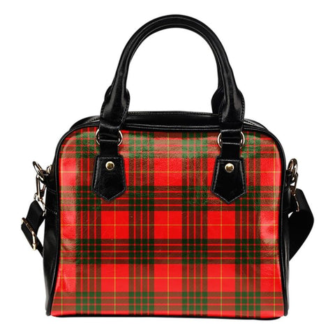 Cameron Modern Tartan Shoulder Handbag - Bn Handbags