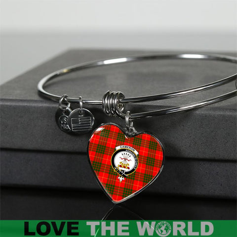 Image of Cameron Modern Tartan Silver Bangles - Sd1 Luxury Bangle (Silver) Jewelries