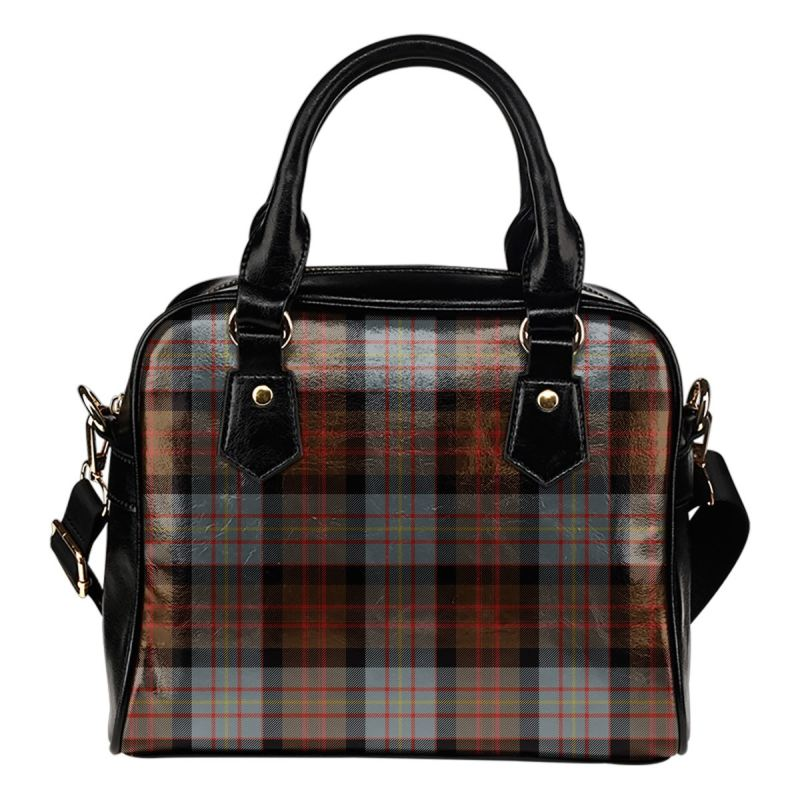 Cameron Of Erracht Weathered Tartan Shoulder Handbag - Bn Handbags
