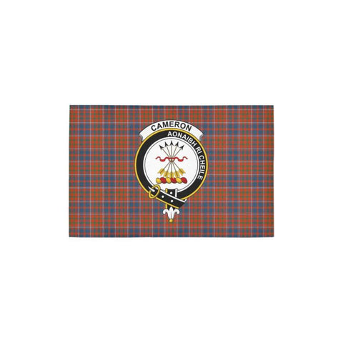 Cameron Of Lochiel Ancient Tartan Area Rug - Ro One Size / Cameron Of Lochiel Ancient Area Rug 27X