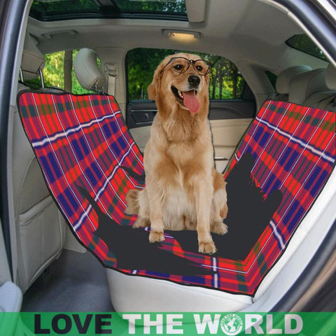 Image of Cameron Of Lochiel Modern Scottie Tartan Pet Car Seat Dt8 Seats
