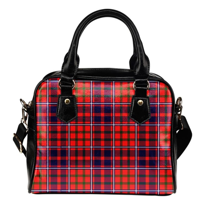 Cameron Of Lochiel Modern Tartan Shoulder Handbag - Bn Handbags