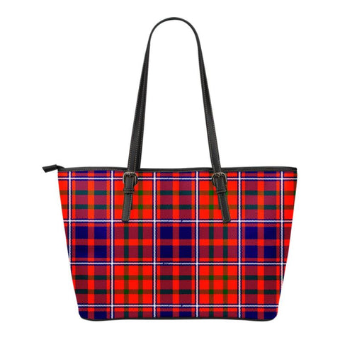 Cameron Of Lochiel Modern  Tartan Handbag - Tartan Small Leather Tote Bag Nn5 |Bags| Love The World