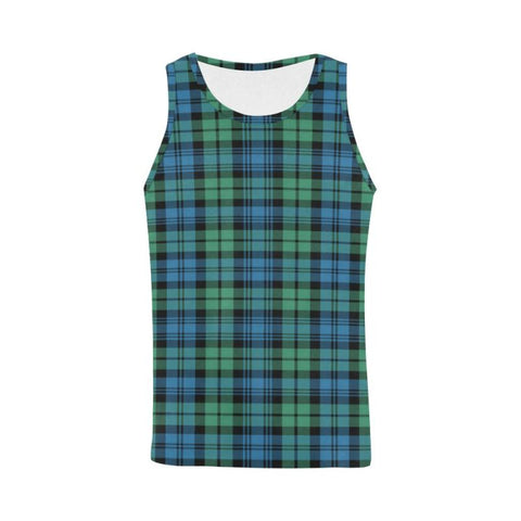 Campbell Ancient 01 Tartan All Over Print Tank Top Nl25 Xs / Men Tops