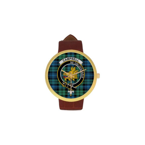 Campbell Ancient 01 Clan Badge Tartan Watch Nn5 |Accessories| Love The World