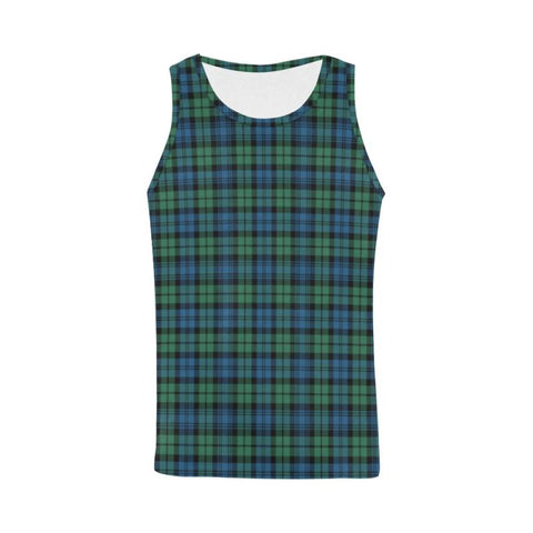 Campbell Ancient 02 Tartan All Over Print Tank Top Nl25 Xs / Men Tops