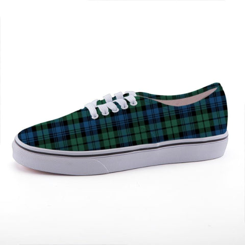 Campbell Ancient 02 Tartan Canvas Shoes C3 35