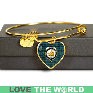 Campbell Ancient 02 Tartan Golden Bangle - BN01