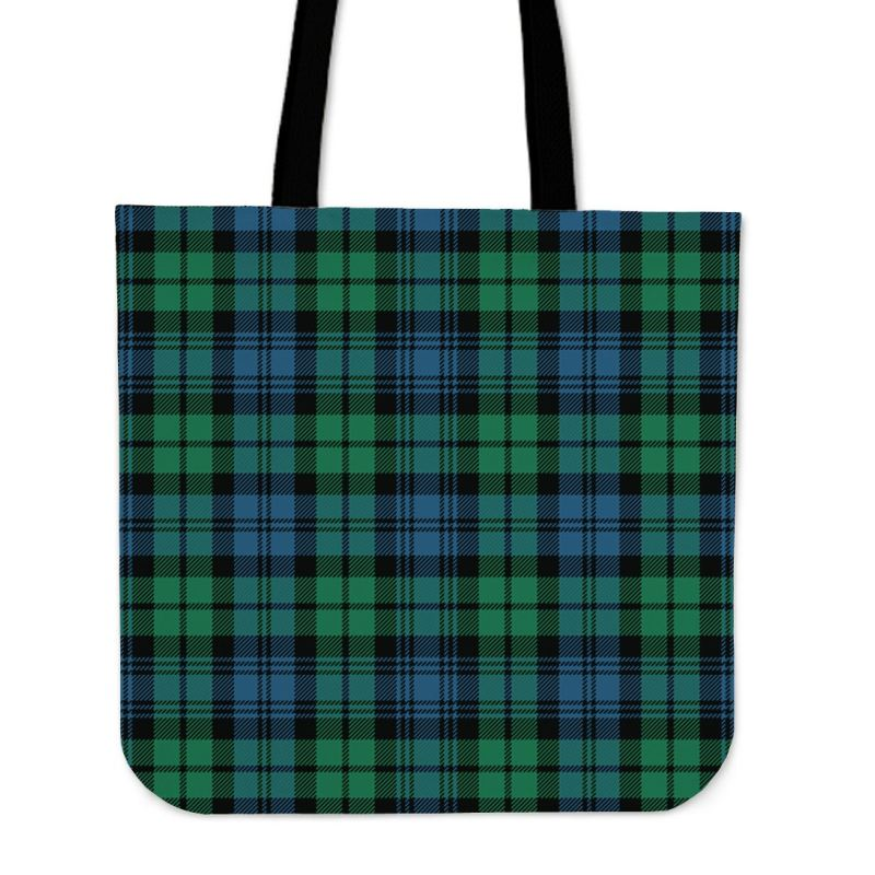 Campbell Ancient 02 Tartan Tote Bags