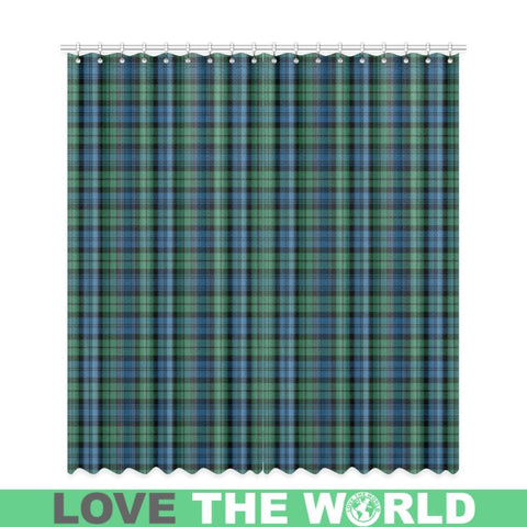 Image of Campbell Ancient 02 Tartan Window Curtain Tk1 Curtains