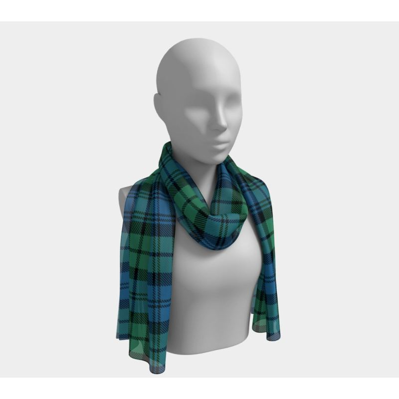 Campbell Ancient Tartan Long Scarf Scarfs