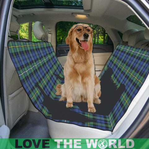 Image of Campbell Argyll Ancient Scottie Tartan Pet Car Seat Dt8 Seats