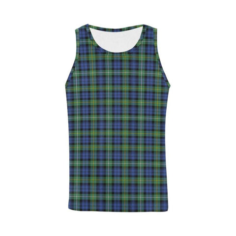 Image of Campbell Argyll Ancient Tartan All Over Print Tank Top Nl25 Xs / Men Tops