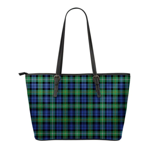 Campbell Argyll Ancient  Tartan Handbag - Tartan Small Leather Tote Bag Nn5 |Bags| Love The World
