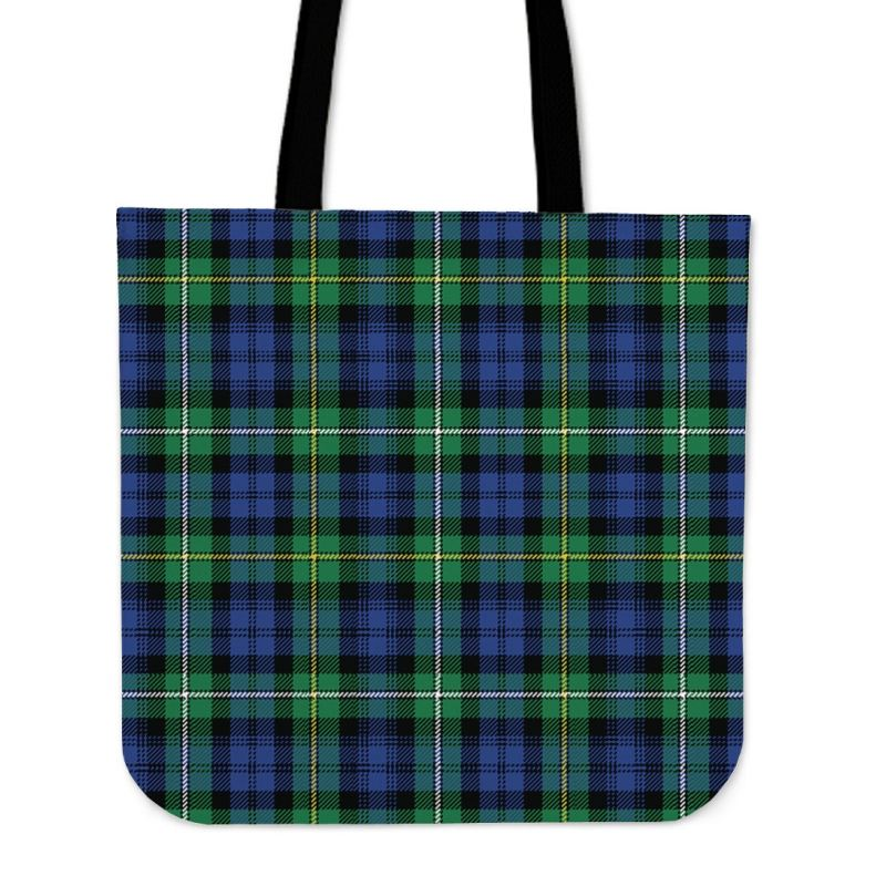 Campbell Argyll Ancient Tartan Tote Bags