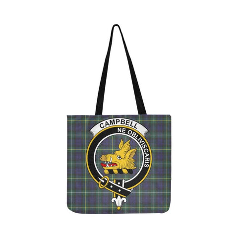 Campbell Argyll Modern Clan Badge Tartan Reusable Shopping Bag - Hb1 Bags