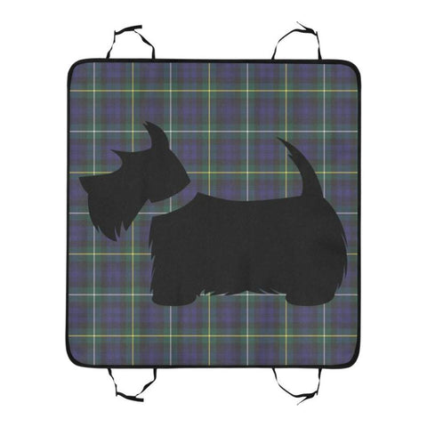 Campbell Argyll Modern Scottie Tartan Pet Car Seat Dt8 Seats
