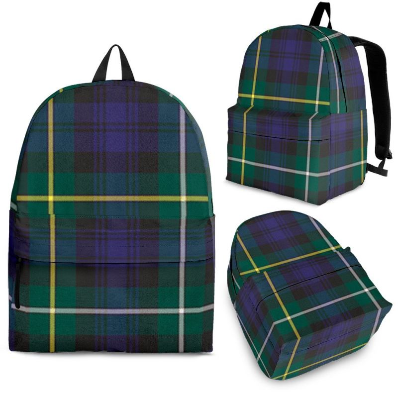 Campbell Argyll Modern Tartan Backpack Backpacks
