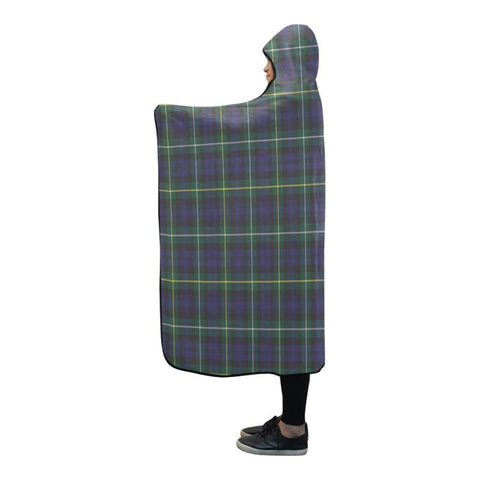 Image of Campbell Argyll Modern Tartan Hooded Blanket - Tn One Size / 80X56 Blankets