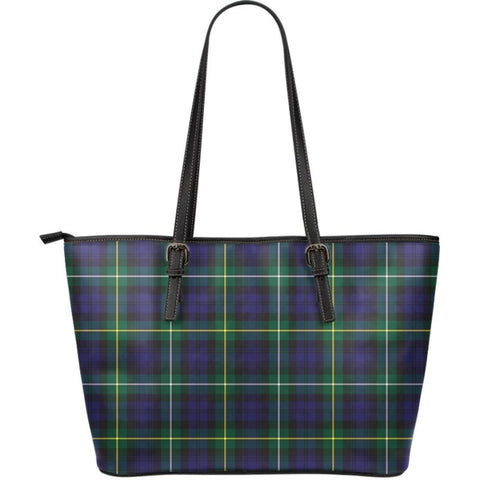 Campbell Argyll Modern Tartan Handbag - Large Leather Tartan Bag Th8 |Bags| Love The World