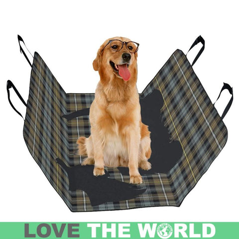 Campbell Argyll Weathered Scottie Tartan Pet Car Seat Dt8 Seats