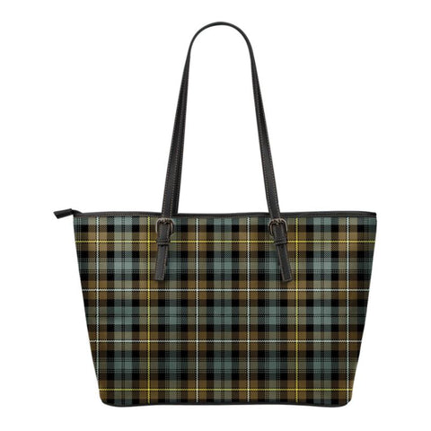 Campbell Argyll Weathered  Tartan Handbag - Tartan Small Leather Tote Bag Nn5 |Bags| Love The World