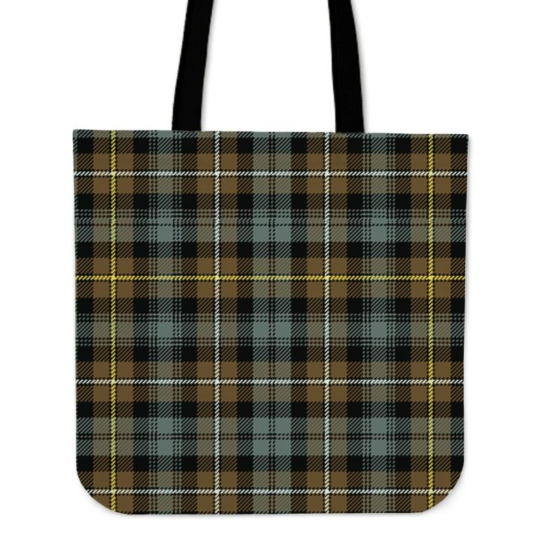 Campbell Argyll Weathered Tartan Tote Bags