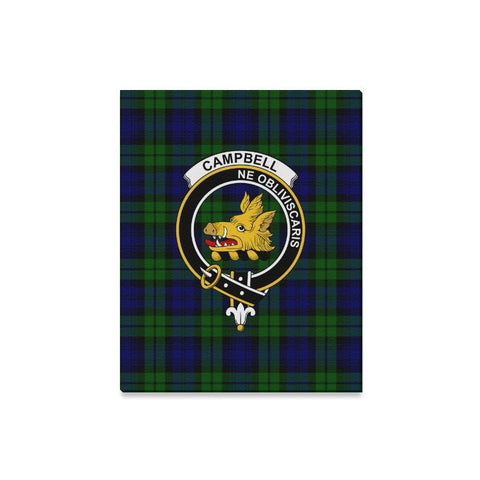 Tartan Canvas Print - Campbell Clan | Over 300 Scottish Clans and 500 Tartans